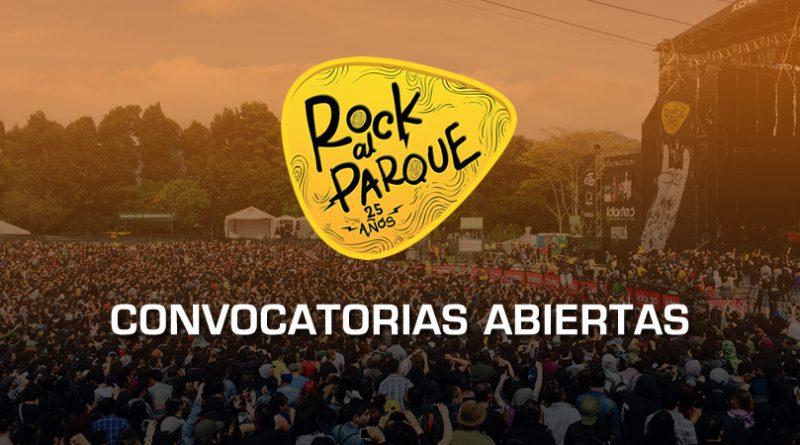Las dos convocatorias de Rock al Parque 2019