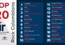 Top 20 Rock Colombiano Emisión 1 – 2019