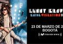 Todo listo para el concierto de Lenny Kravitz en Bogotá