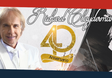 RICHARD CLAYDERMAN EN COLOMBIA