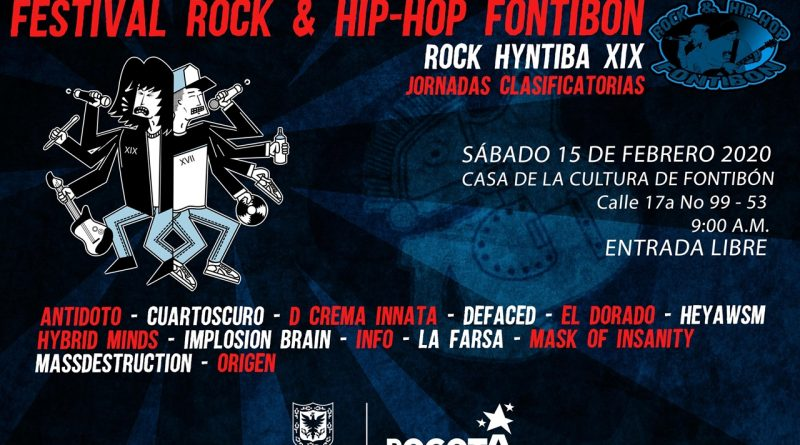 Sea parte de un festival con sonido local y distrital