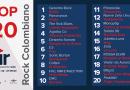 Top 20 Rock Colombiano – Emisión 39 y 40 – 2020