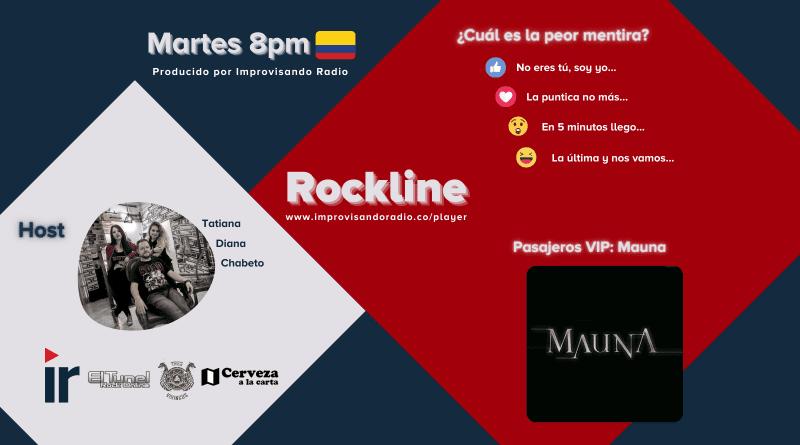 Rockline T.21-03: Las Mentiras y Mauna