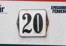 Emisiones de Febrero 2021 del Top 20
