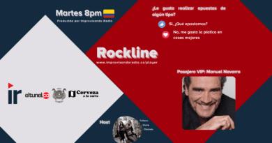 Rockline T. 2021 Cap 9 – Las Apuestas y Manuel Navarro