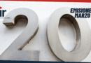 Emisiones de marzo 2021 en el Top 20