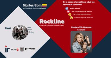 Rockline T21-12: Giovanna Lorenzini y Chernobyl