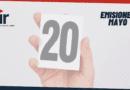 Emisiones de mayo 2021 en el Top 20