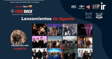 Feed Rock Lanzamientos Agosto 2021