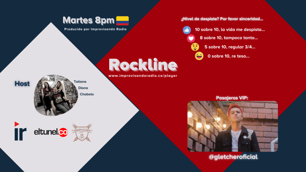 Rockline El Despiste y Gletcher
